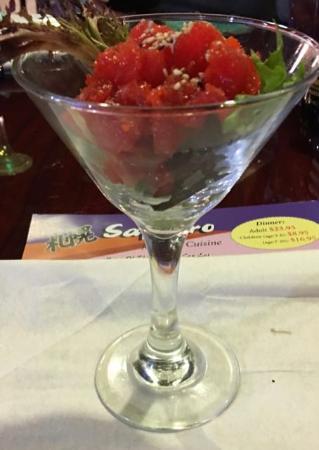Pooler, GA: A Tuna appetizer