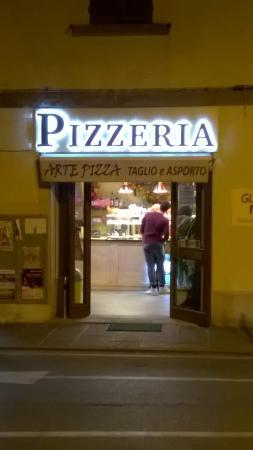 Monte San Savino, Italia: pizzeria