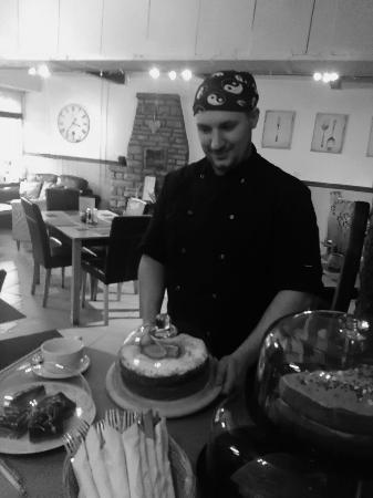Holmfirth, UK: Chef Dan