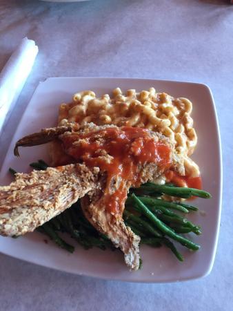 Apalachicola, Floride : Fried Grouper Throat