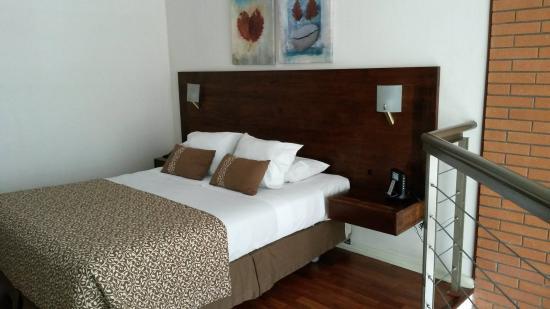 Park Plaza Apart Hotel: parte del dormitorio... hermoso y super moderno