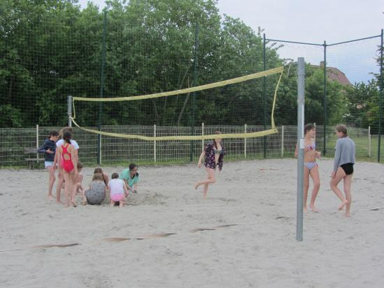 Саверн, Франция: terrain de volley