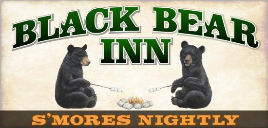 Black Bear Inn: Our new sign!
