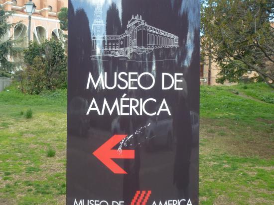 Museum of the Americas (Museo de America): По пути в Музей со стороны Монклуа