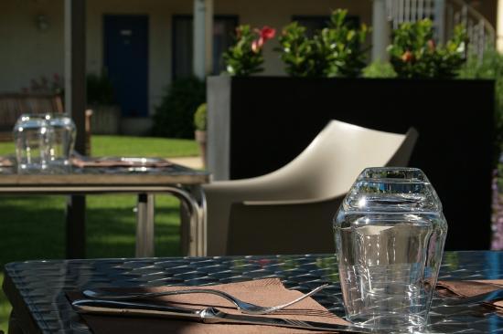 Vendôme, Frankrike: Terrasse pendant les beaux jours !