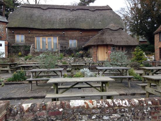 The Crown Inn: Outside tables