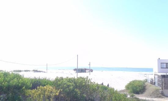 Punta Pelucas: Vista de la cabaña del Mar