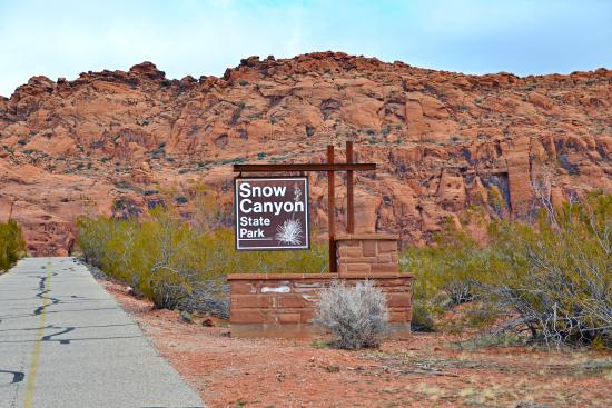 snow canyon state park entrance picture of snow canyon state park rh tripadvisor ca