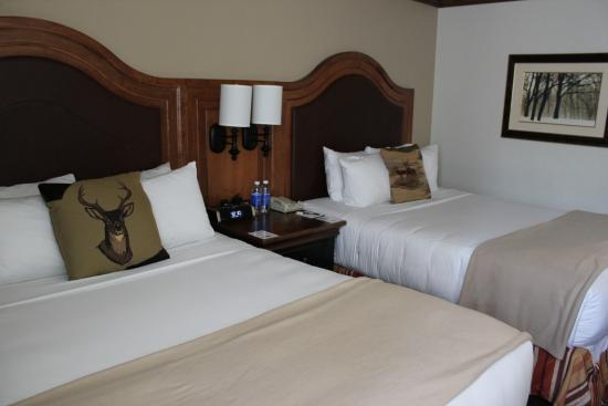 Our room at Snake River Lodge and Spa