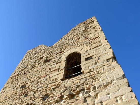Casola Valsenio, Italie : Particolare della torre