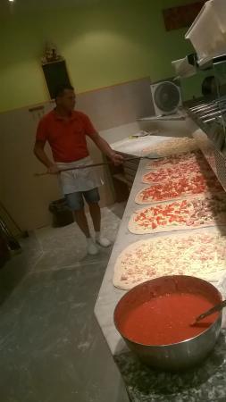 Fiorano Modenese, Italien: la pizza ad alta digeribilità e ottimi prodotti  di qualita��
