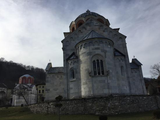 Studenica Monastery: 修道院外觀!!