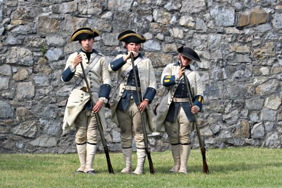 Ticonderoga, estado de Nueva York: French Soldier Reenactors