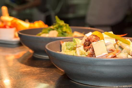 Waitakere City, New Zealand: Warm Lamb Salad