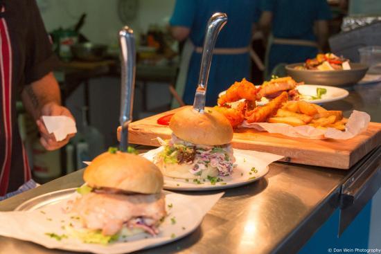 Waitakere City, New Zealand: Pulled Brisket Burgers