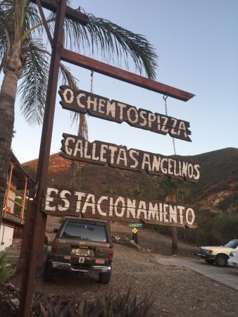 Baja California Norte, México: Entrance sign.