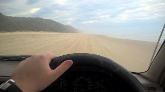Sunshine Beach, Австралия: Beach driving