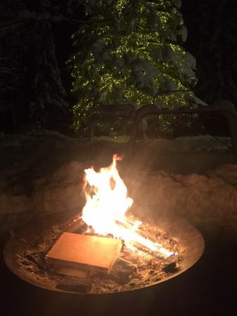 Lenk im Simmental, Sveits: Feuer