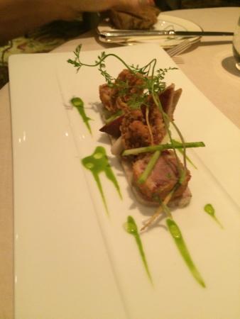 Simon Radley at The Chester Grosvenor: Pork and Scallop