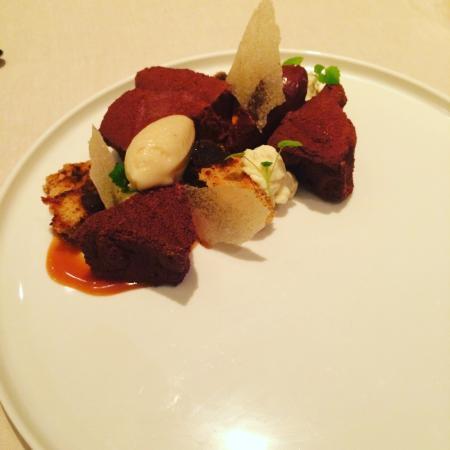 Simon Radley at The Chester Grosvenor: Banana chocolate