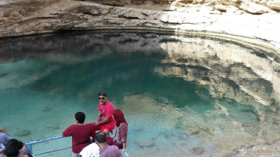 Dibba Al Bay Ah, Oman: Bimmah Sink hole