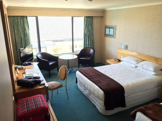 New Plymouth, Nueva Zelanda: One of the two adjoining rooms we had.