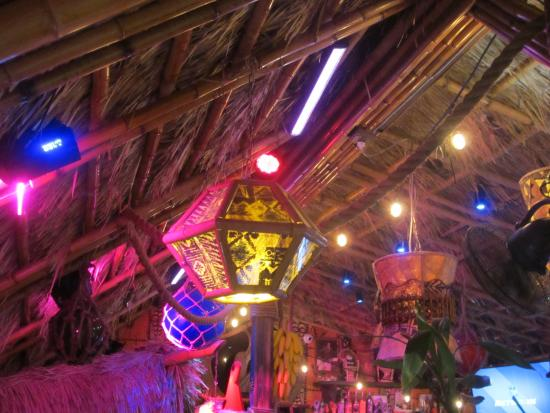 Tiki Lighting To Fun Lighting And Decorations At Tiki Iniki Picture Of