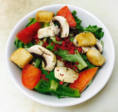 ชัลเมต, หลุยเซียน่า: Dinner salad