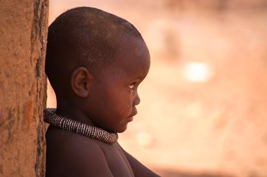 Windhoek, Namibia: Ritratto al villaggio in Namibia