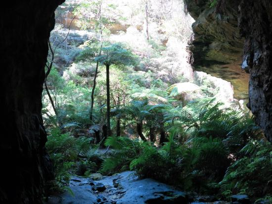 Lithgow, Australien: Finally at the tunnel