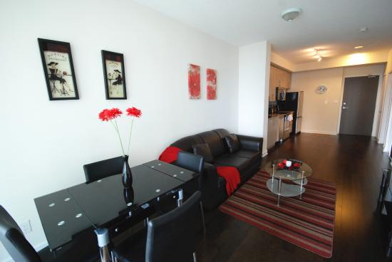 living and dinning room picture of city gate suites mississauga rh tripadvisor ca