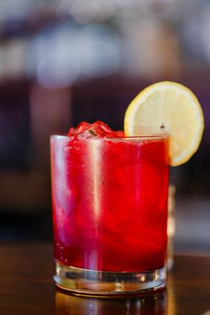 Exeter, Nueva Hampshire: Beetnik After Dark (with Org. Beet Infused Tequila)