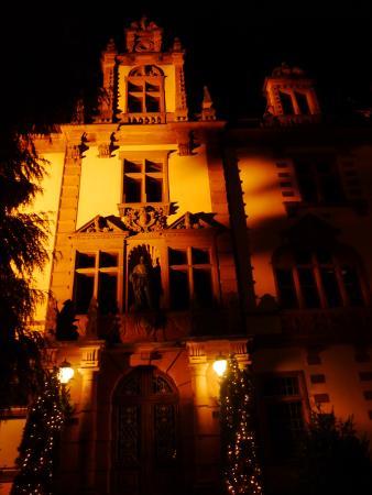 Badenweiler, Allemagne : Schloß bei Nacht