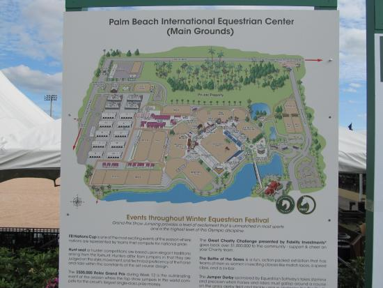 ‪The Palm Beach International Equestrian Center‬