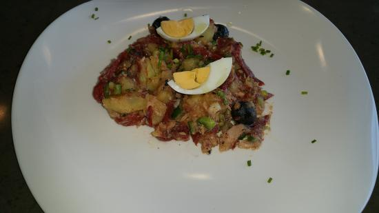 Mollet del Valles, Spagna: Ensalada de patata
