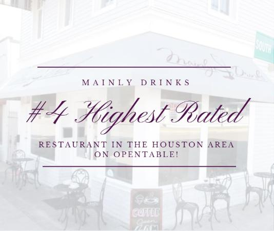 La Porte, TX: We were featured as the #4 highest rated restaurant in the Greater Houston area, as determined b