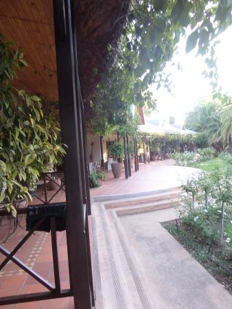 Hlangana Lodge: de la terrsse dex chambre