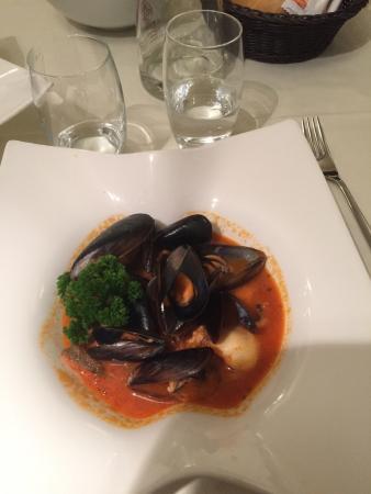 """Sondrio, Italien: """"Guazzotto di pesce"""" ottimo."""