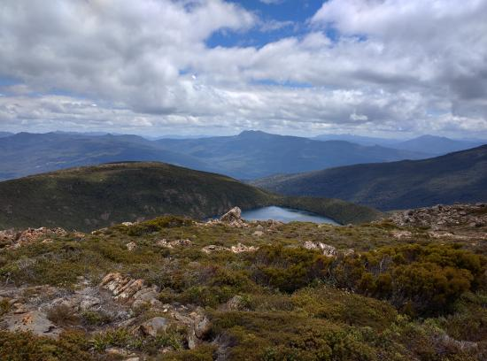 Huonville, Αυστραλία: Stunning view from the plateau