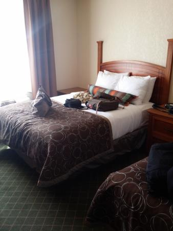 Staybridge Suites Calgary Airport: outra cama queen