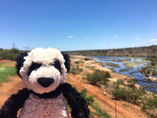 Komatipoort, แอฟริกาใต้: A selfie with the scenery