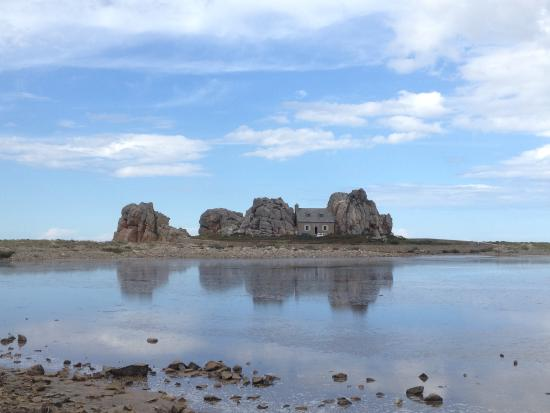 Plougrescant, Francia: La casetta