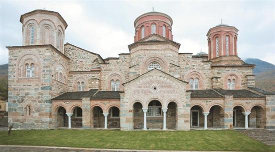 Akritochori, Grecia: Η εκκλησία του Τιμίου Προδρόμου.