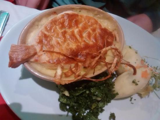 Matlock Bath, UK: Fish Pie....I bet you guessed?!! Fantastic