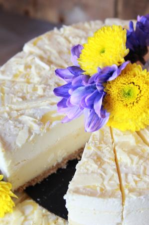 Sherwood Park, Kanada: White Chocolate Lemon Cheesecake
