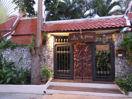 Le Prive Pattaya: Entrance