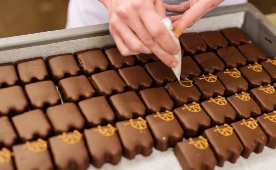 Schiedam, Países Bajos: Handmade chocolate