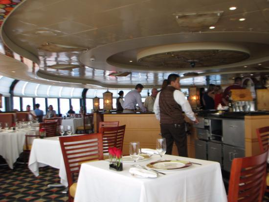Port Canaveral, FL: Vista del restaurante de día