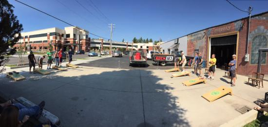 Sandpoint, ID: 2nd Saturday Cornhole Tournament Rain (inside the brewery) or Shine (Outside on the Patio)