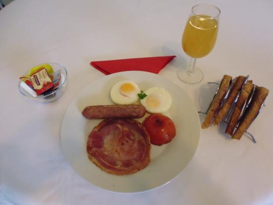 Invercargill, Nueva Zelanda: Breakfast
